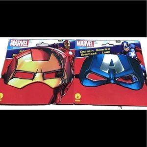 Iron Man & Captain America Eye Masks